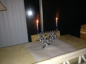 First Night of Hanukkah