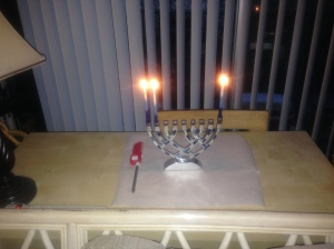 Second night of Hanukkah